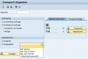 Transport Organizer