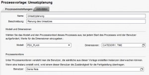 Prozesseinstellungen Business Process Flow