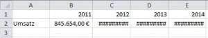 Excel VBA Spaltenbreite anpassen