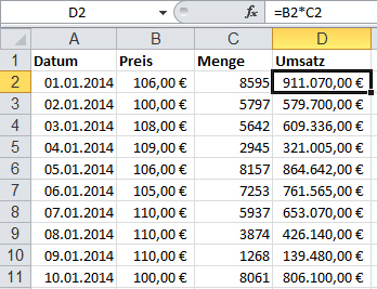 Excel VBA – Formeln entfernen | Denis Reis