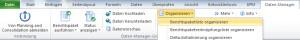 Daten-Manager Pakete organisieren