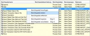 DataPackage anpassen