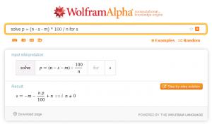 Inverse Formeln automatisch auflösen