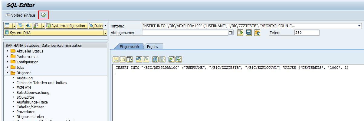 Insert SQL Statement