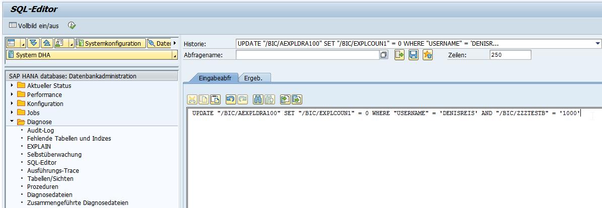 UPDATE SQL Statement