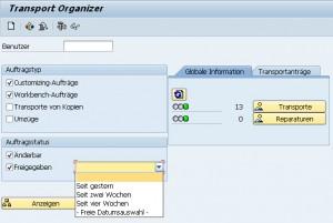 Transport Organizer
