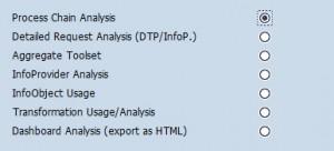 Process Chain Analysis