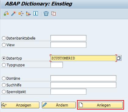 ABAP Dictionary Einstieg