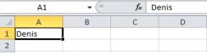 Inputbox Excel Ergebnis