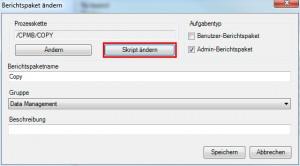 DataPackage Skript anpassen