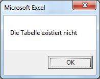 VBA Prüfung - Tabelle existiert nicht