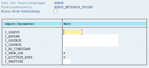 Einzelne DataSources per Funktionsbaustein aktivieren