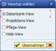 Viewtyp wählen