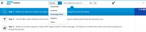 SAP Knowledge Base durchsuchen