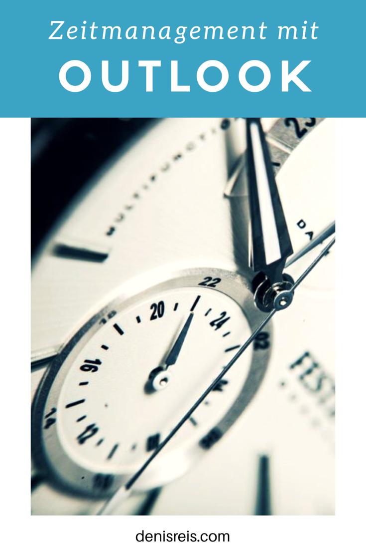 So verwandeln Sie Outlook in ein Zeitmanagement Tool