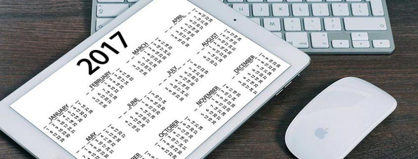 So bestimmen Sie die Anzahl der Kalenderwochen im Jahr
