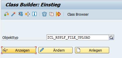 ABAP Klasse prüfen