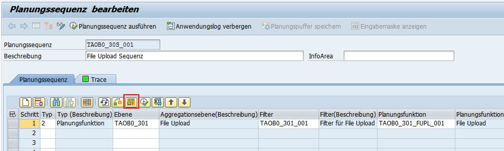 Planungssequenz für File Upload